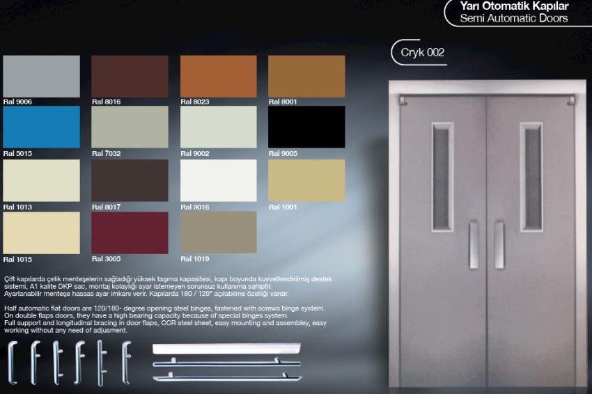 ELEVATOR SEMI AUTOMATIC DOORS CRYK002