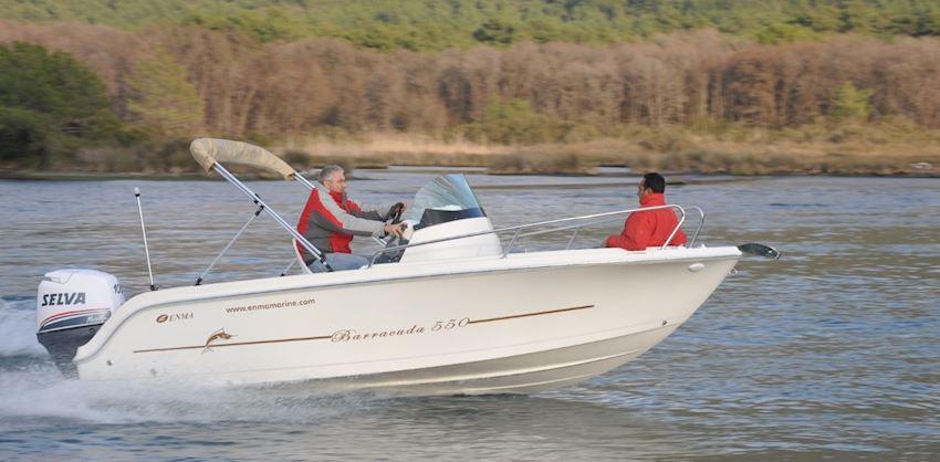 ENMA 530 barracuda Boats