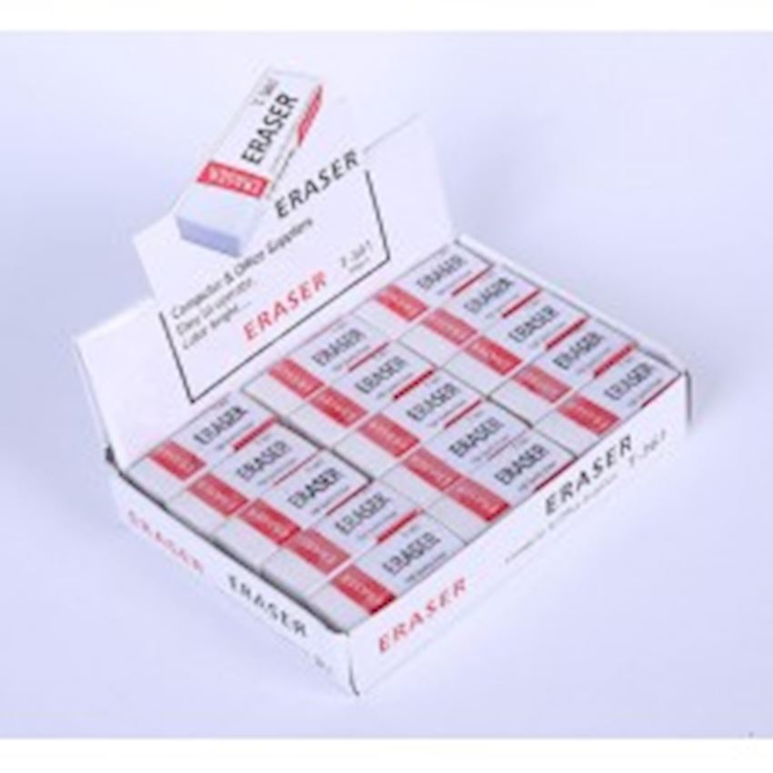Eraser - White Economic - Small Eraser