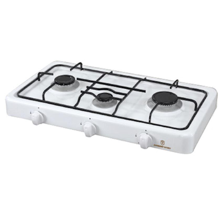 ERENDEMIR 3 Gas Burner With Enamelled Gas Cooker