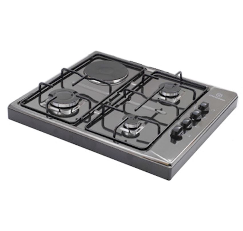 ERENDEMIR Countertop Black Enamelled Gas Cooker