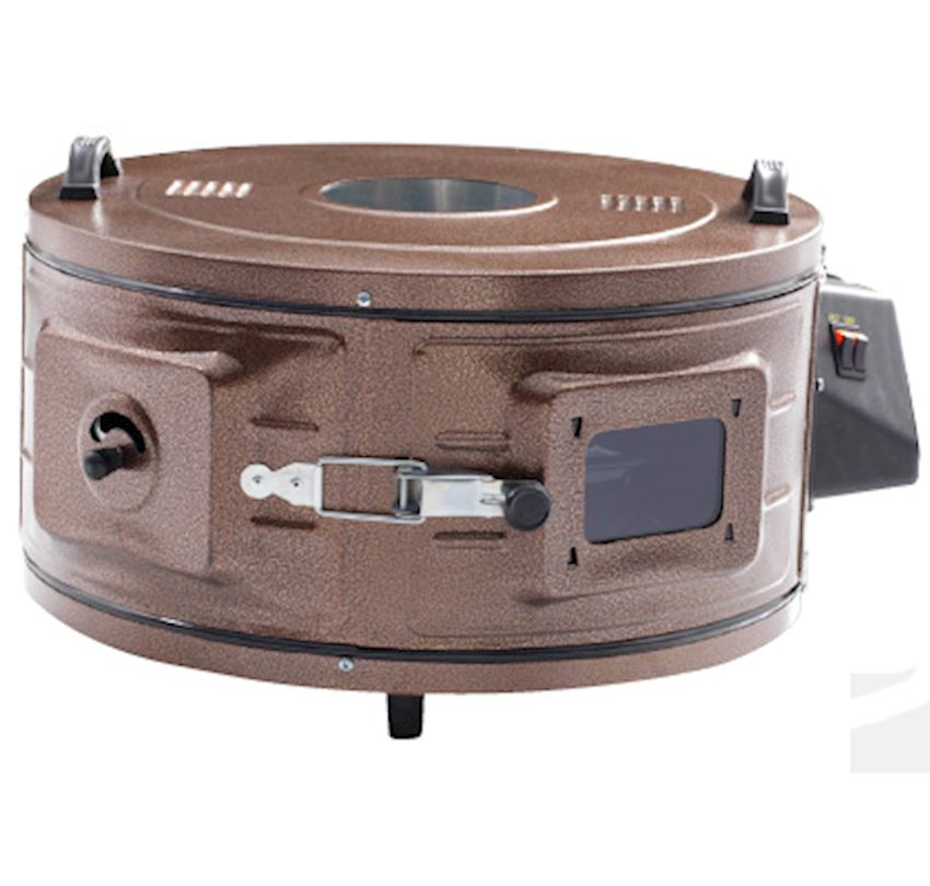 ERENDEMIR Electrical Round Oven With Glass