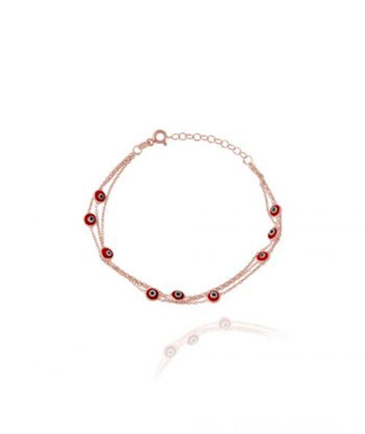 Evil Eye Bracelet, Red