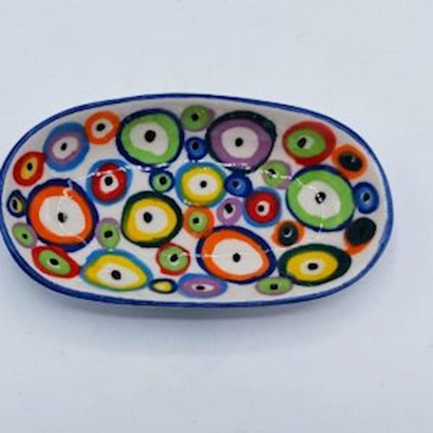 Evil Eye Sandal Plate 12cm