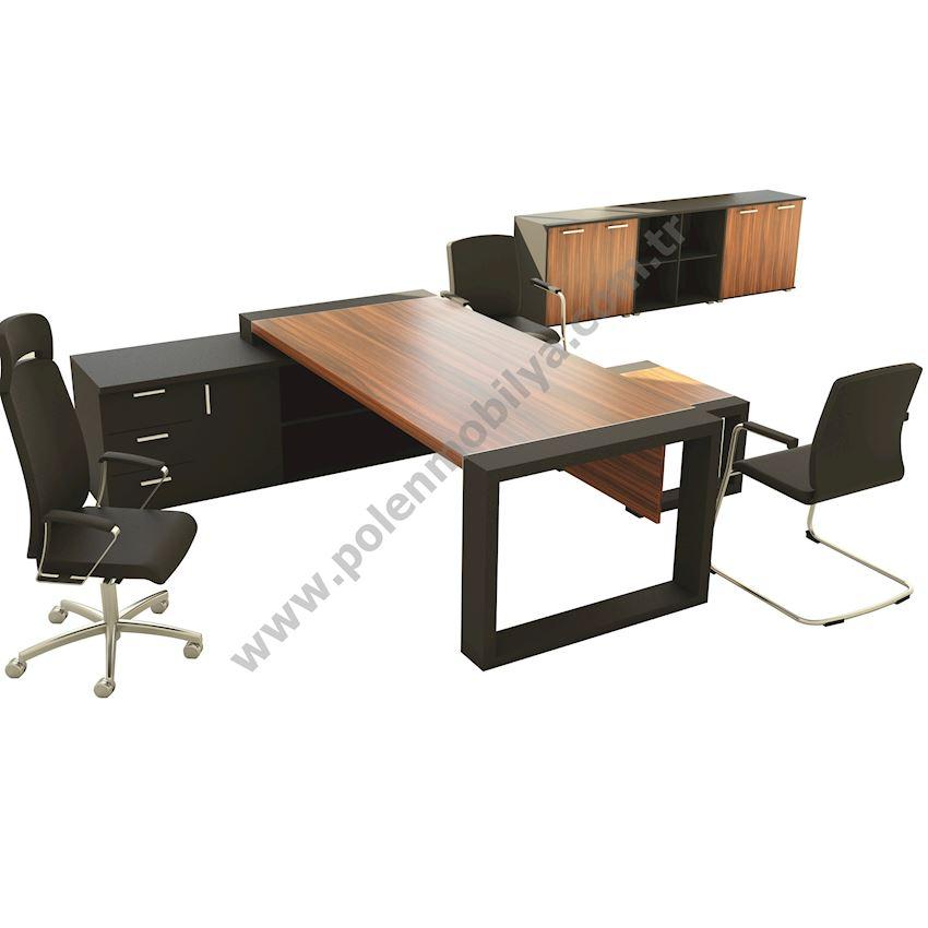 Executive Desk: 230x90x75h