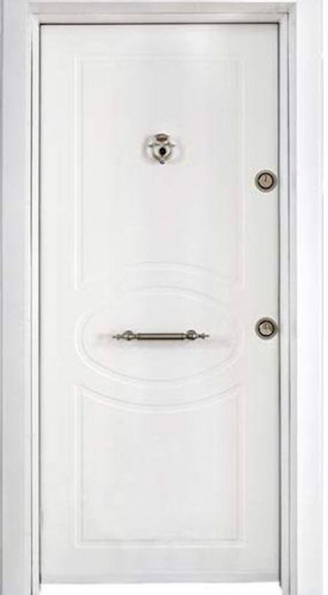 Extra Steel Doors White Steel Door