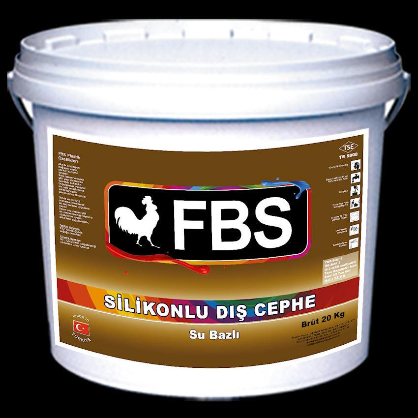 FBS Siliconed Exterior Wall Paint White