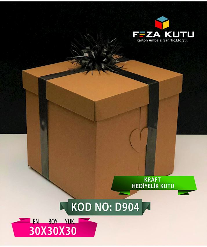 FEZA D904 30X30X30 MULTI PURPOSE GIFT CRAFT BOX Packaging Boxes