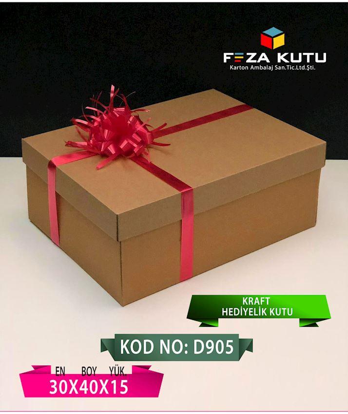 FEZA D905 30X40X15 MULTI PURPOSE GIFT CRAFT BOX Packaging Boxes
