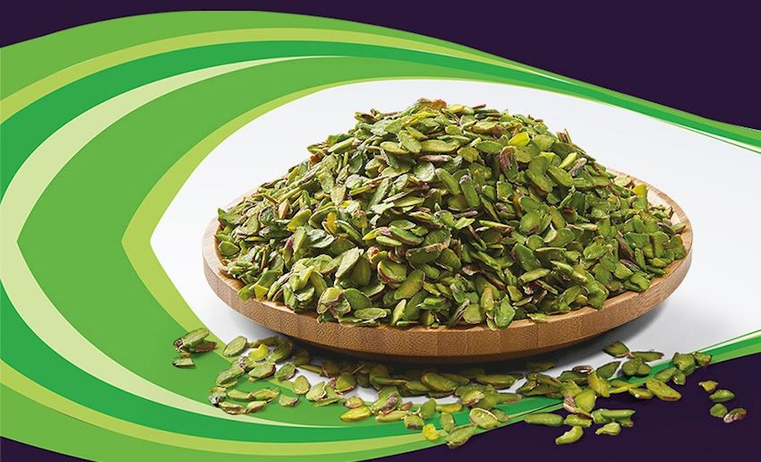 Fistikci Food Antep Pistachio Kernels Green Sliced