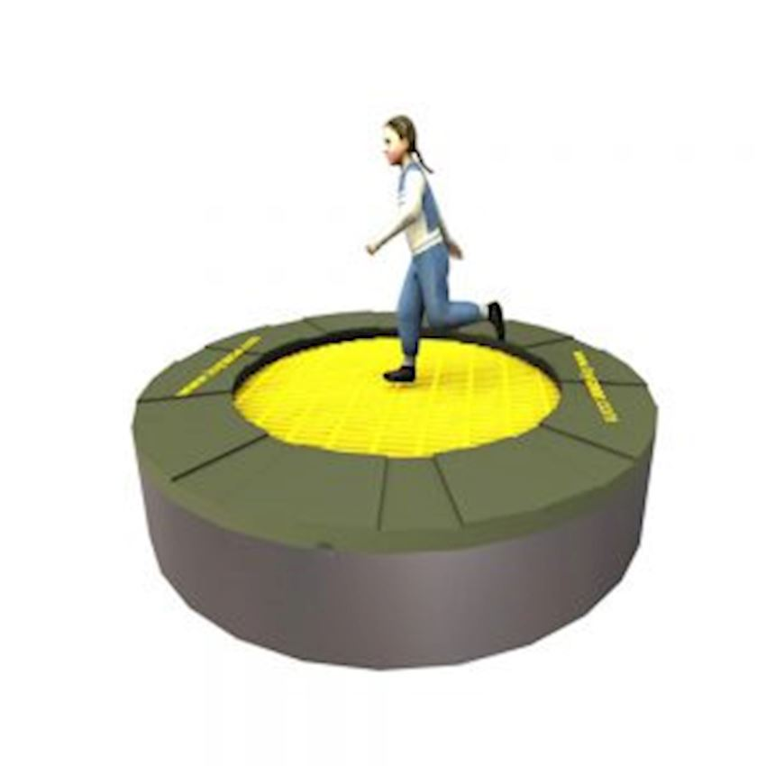 Floor Trampoline 175 × 40 (175 Diameter) Amusement Park