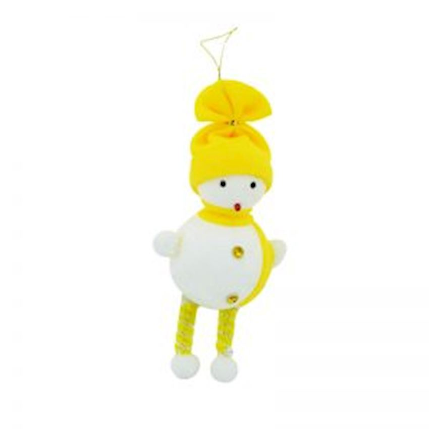 Foam Snowman Christmas Tree Decoration Yellow Christmas Decoration Supplies