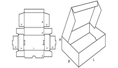 Folding Type Fefco 429