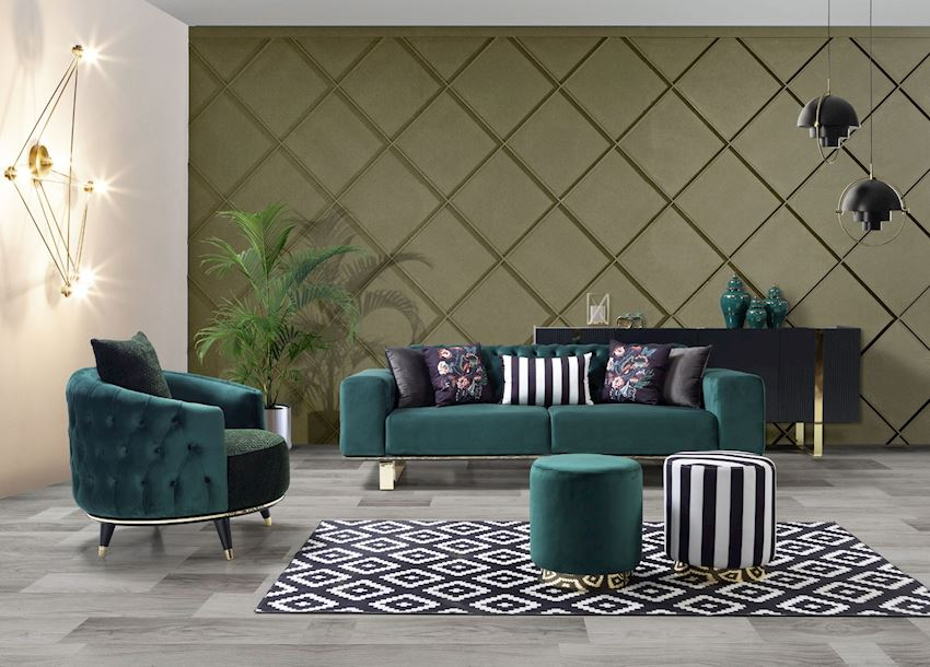 FORA MONS GOLD Living Room Sofas