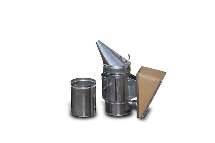 Smoker with Bucket - Galvanized