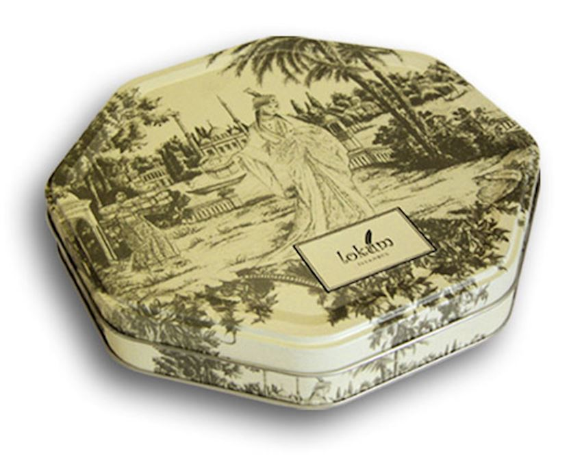 GAMPAS 220x220x40mm Octagonal Shaped Box Packaging Boxes