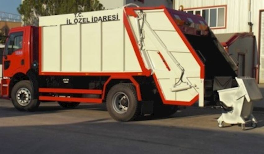 Garbage Trucks 13m3
