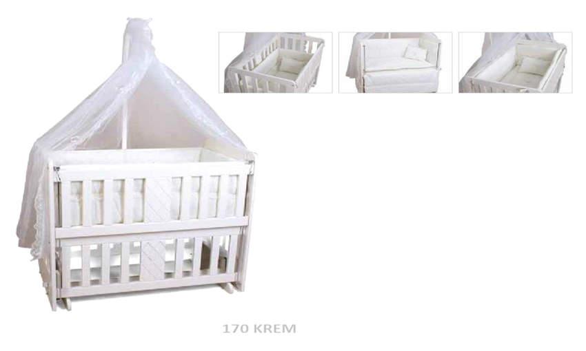 GENÇ ARCHI baby crib Emerald 50 * 90  Mother Aside Children's Cribs