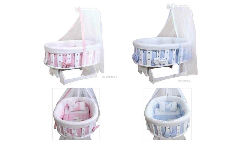 GENÇ ARCHI baby crib Prince Simple 54 * 99 Children's Cribs