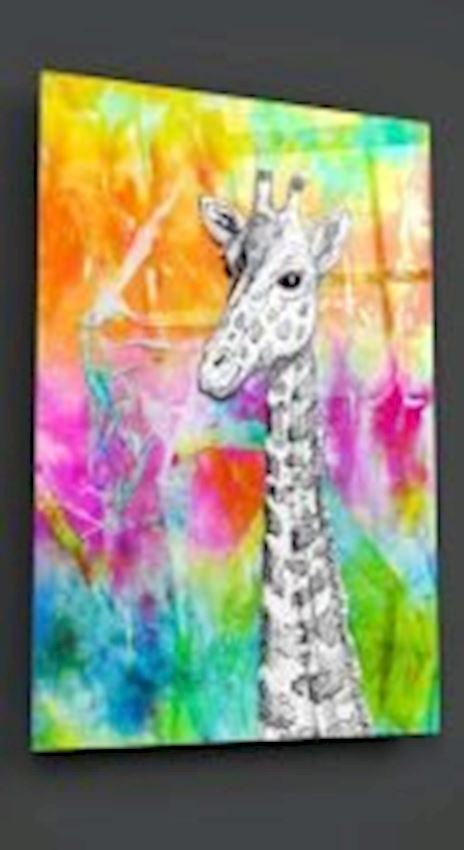 Giraffe Glass Table
