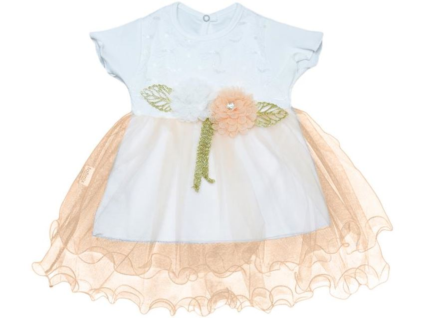 Girl Dress Double Skirt Fishing Line Lacy Summer