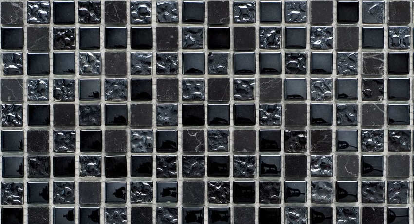 Glass & Stone & Platinium Mix
