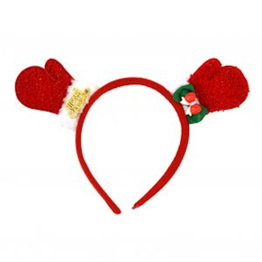 Glove Christmas Party Crown Christmas Decoration Supplies