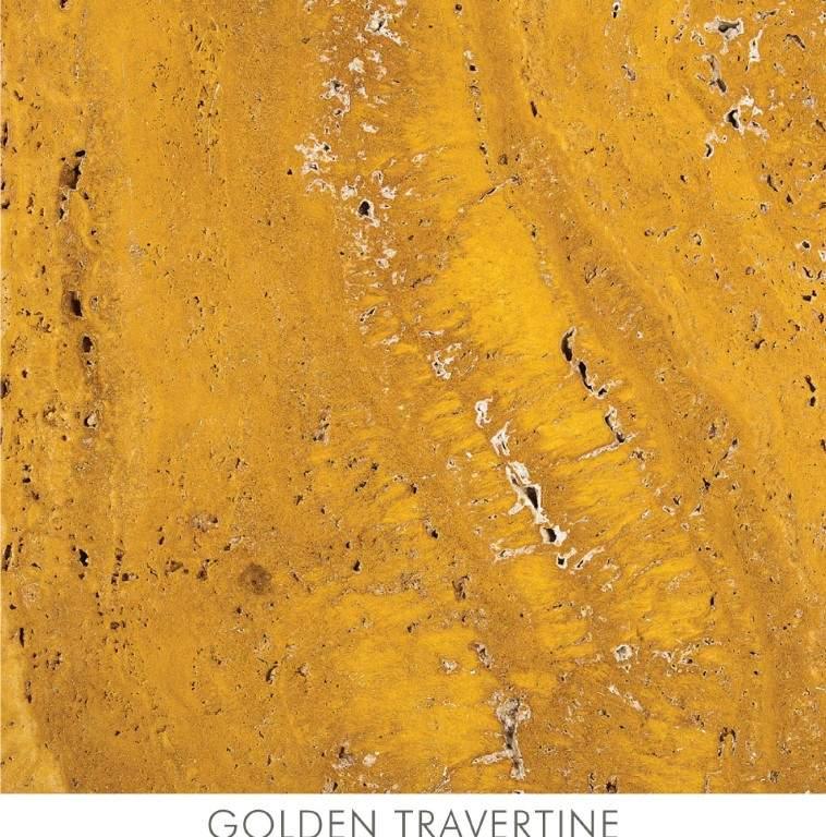 Golden Travertine Marble Stone