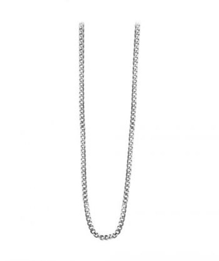 Gourmet Chain Necklace Oxidized