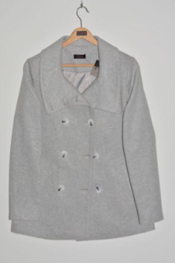 Gray Classic Cut Jacket