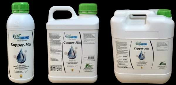 GreenTech Copper-Mix EC Fertilizer, Fertilizer Solution with Copper Content (Containing Copper Sulfate)