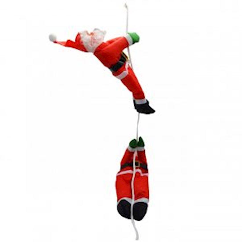 Hanging Climbing Santa Claus Ceiling Ornament Christmas Decoration Supplies