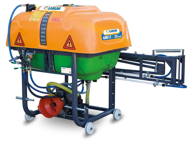 Hanging Type Field Sprayer Profile Type Chassis 400 Lt