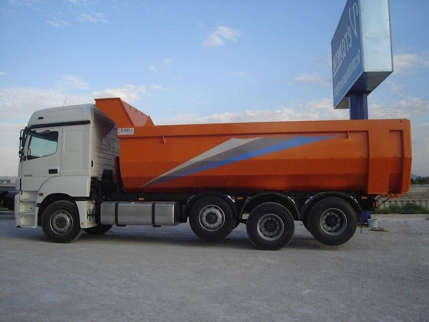 Hardox Damper Truck Trailers