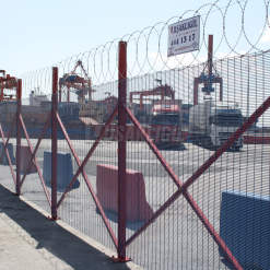 Haydarpaşa Port Operations - Security Fence