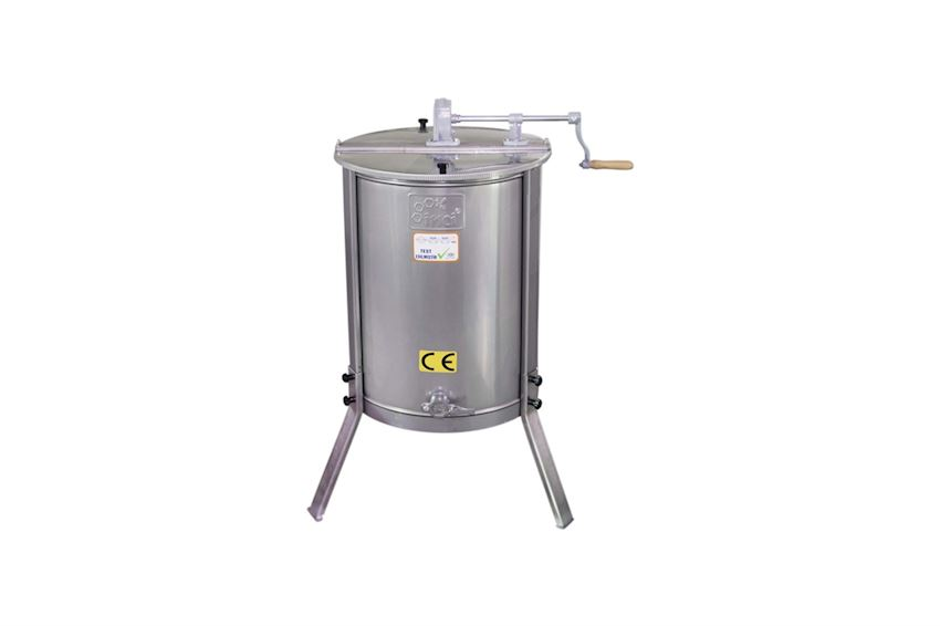 Honey Extractor (4 Frames) - Stainless Steel (304 Quality)