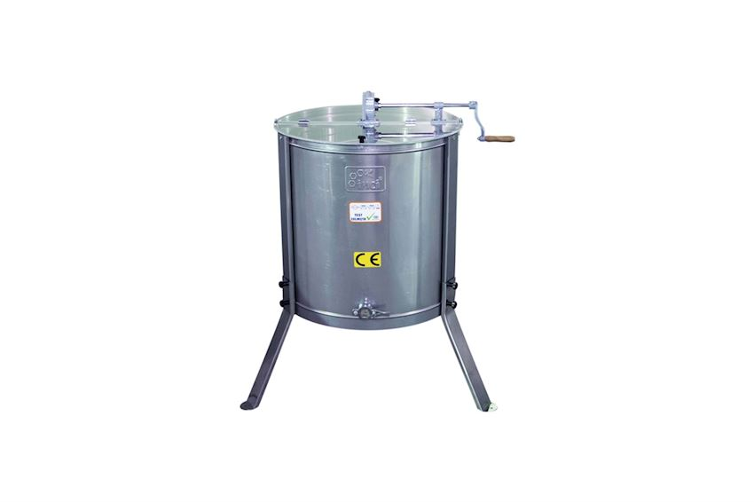 Honey Extractor (6 Frames) - Stainless Steel (304 Quality)