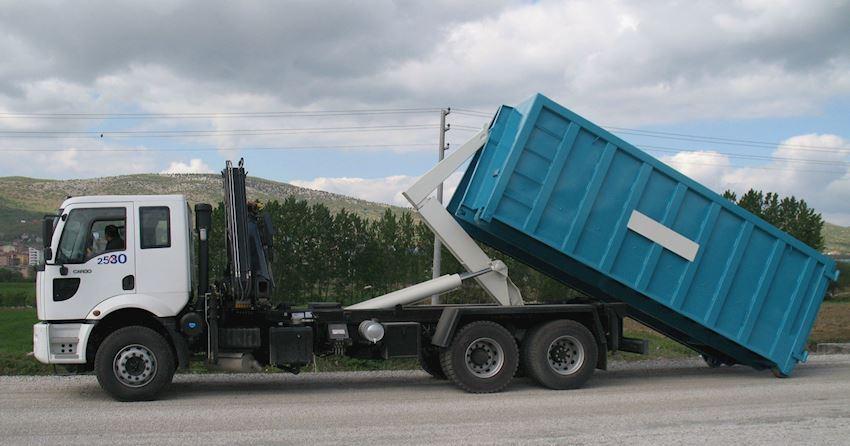 Hooklift KL18 + Crane