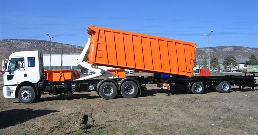 Hooklift KL24 with Trailer