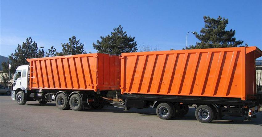 Hooklift Truck Trailer