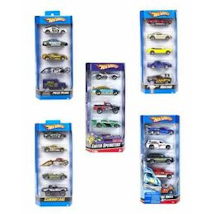 Hot Wheels 5 Piece Car Set Other Toys & Hobbies