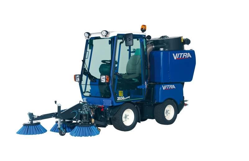 Hydrostatic Road Sweeping Machines