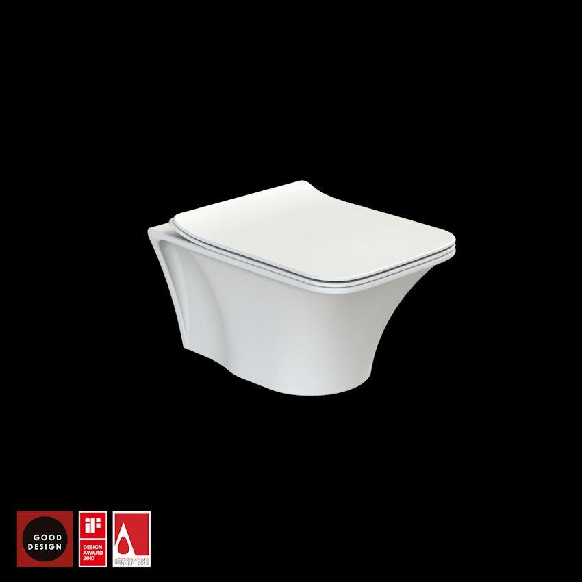 İbiza Wall Hang, Rimless Toilet Bowls