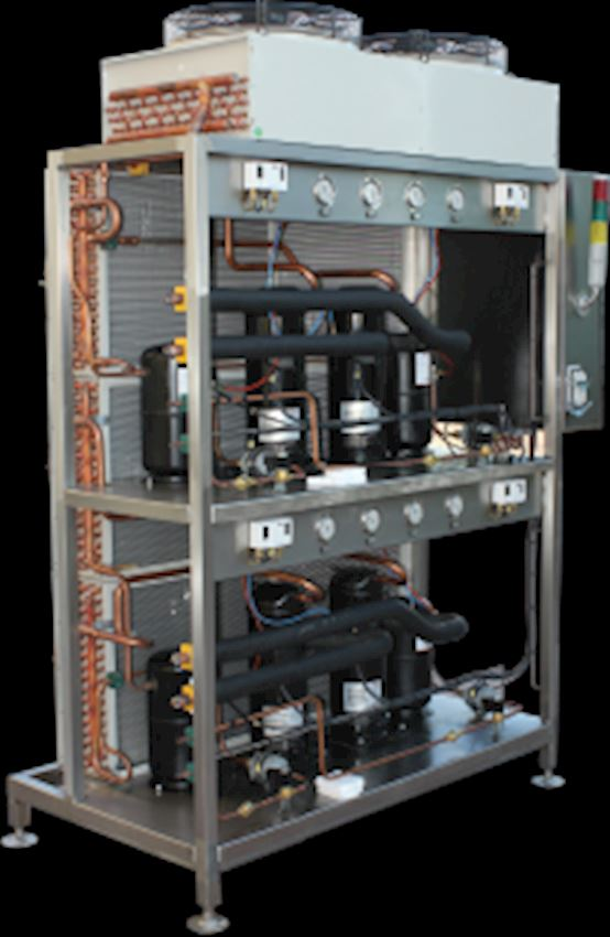 Industrial Chiller Milk Cooling Tanks and Cooling Units