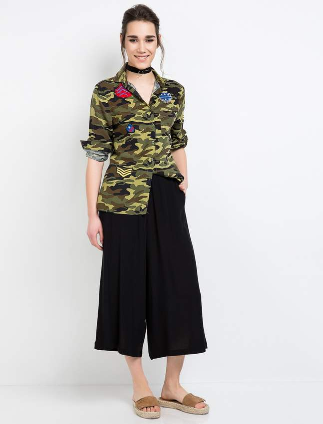 Innovative Designs Shirt & Pants Suit Women's T-Shirts