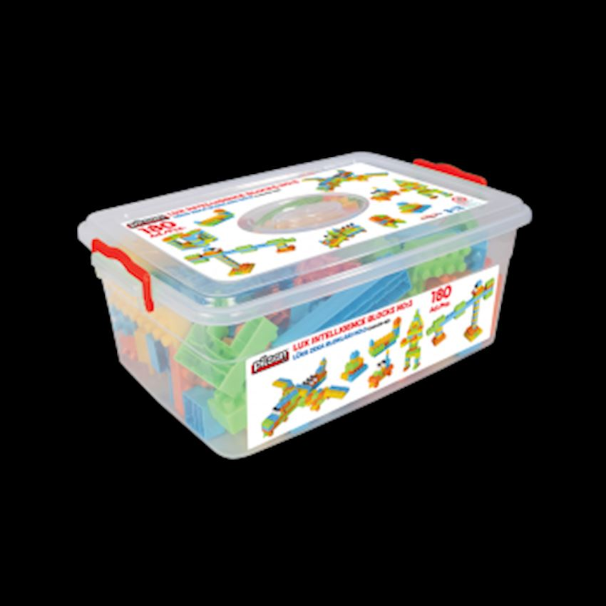 Intelligence Blocks No: 3 (180 Pieces) Other Educational Toys