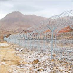 Iran Border Line - Razor Wire