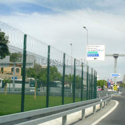 Istanbul Strait Tube Passage - High Security Fence