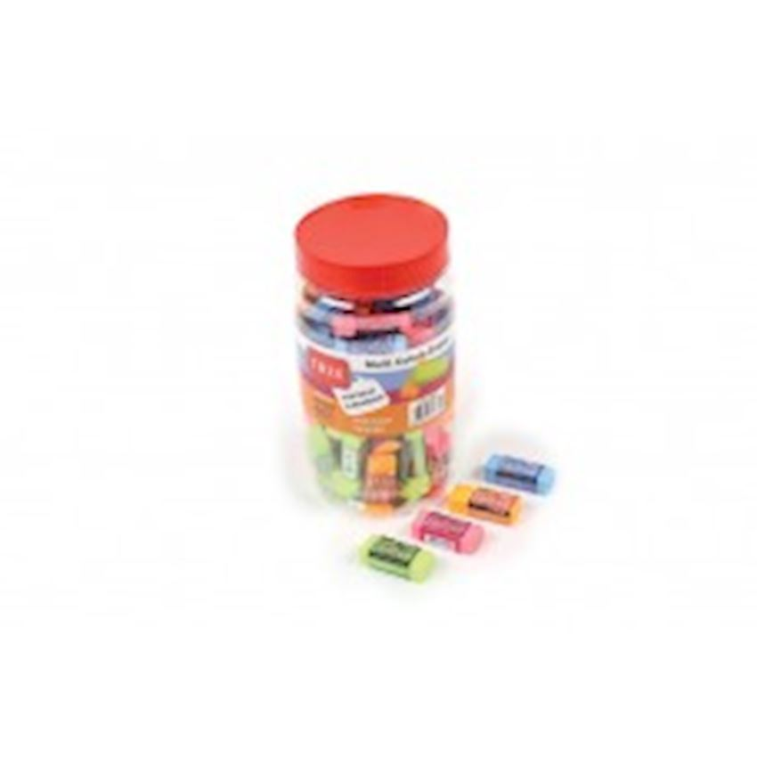 Jar Eraser-Colored Eraser