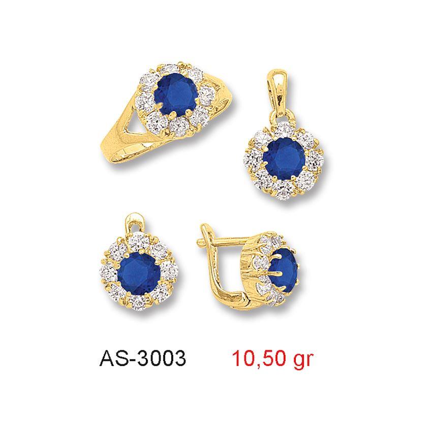 Jewelry Sets- COLORED MINI SET -1 AS-3003